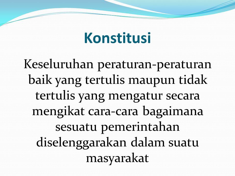 Konstitusi