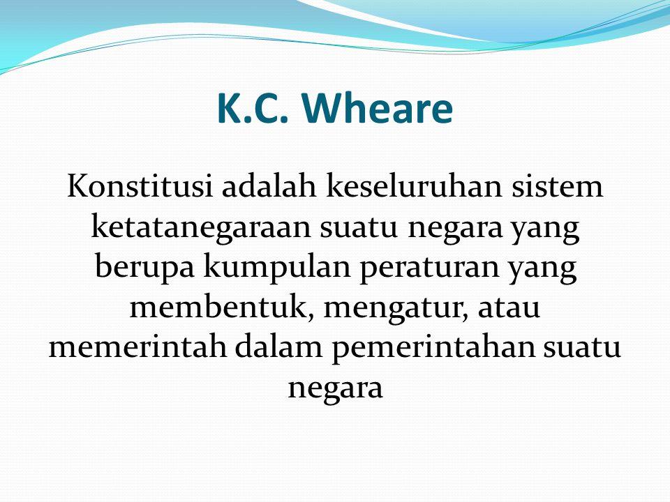 K.C. Wheare