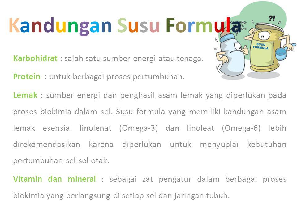 Kandungan Susu Formula