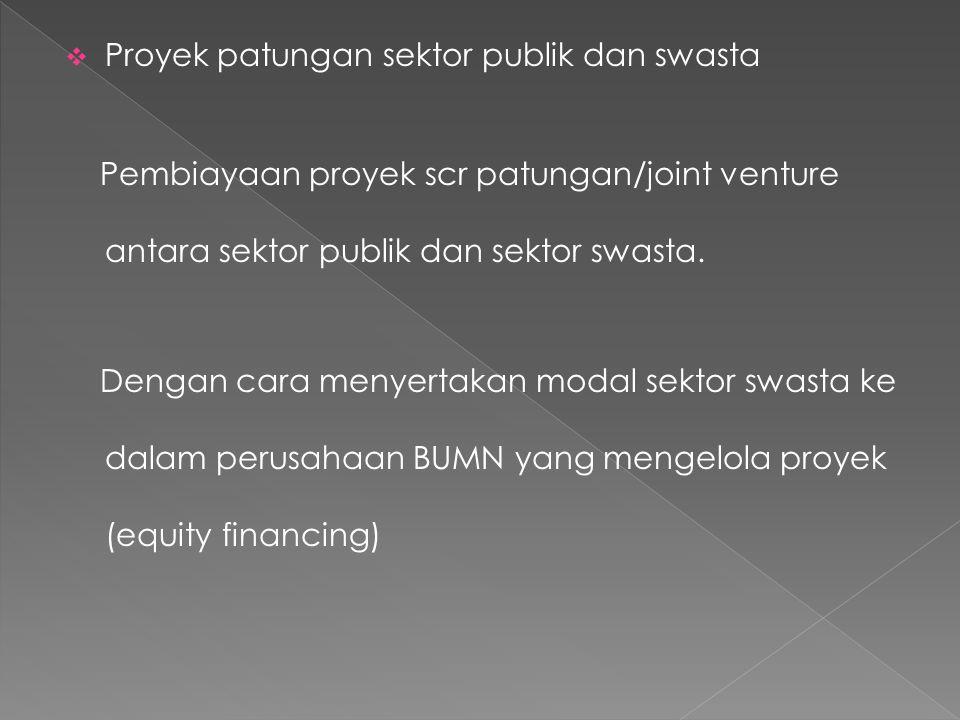 Proyek patungan sektor publik dan swasta