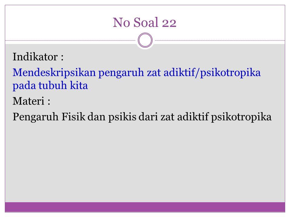 No Soal 22