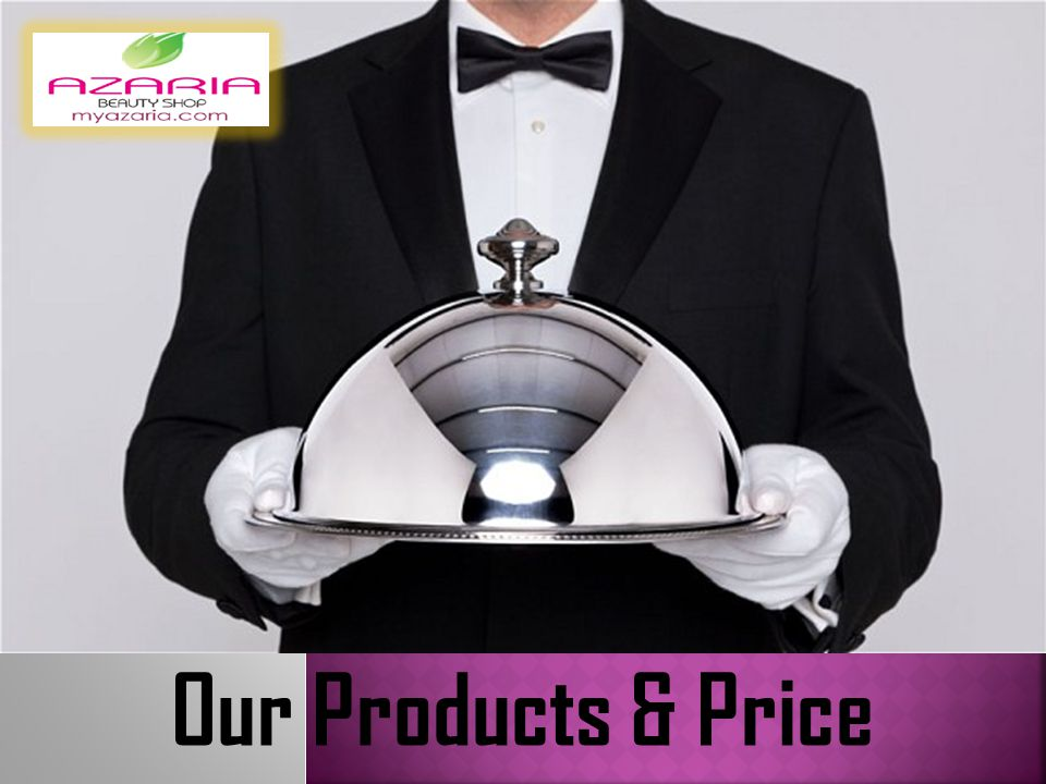 Our Products & Price