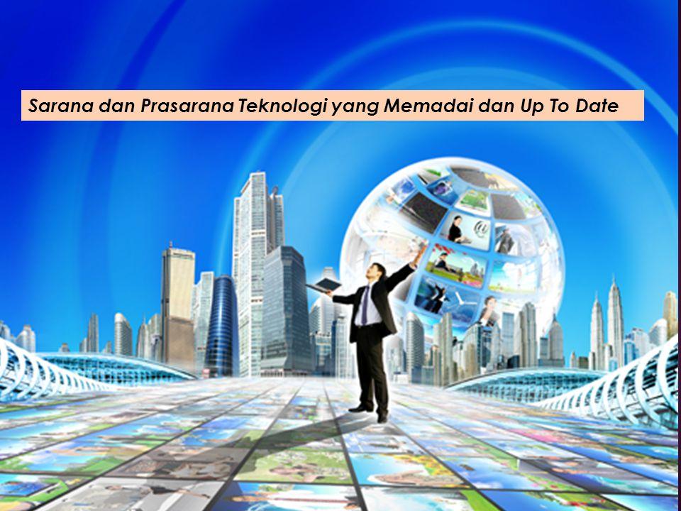 Sarana dan Prasarana Teknologi yang Memadai dan Up To Date