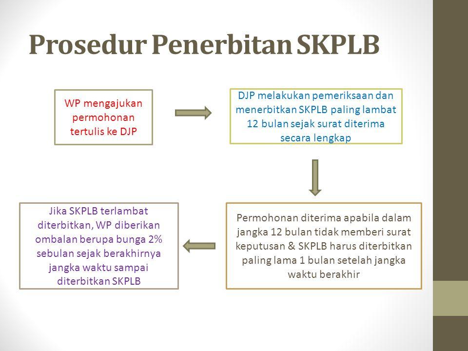 Prosedur Penerbitan SKPLB