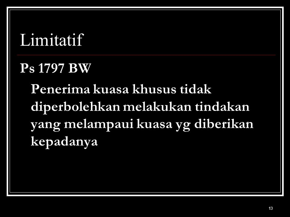 Limitatif Ps 1797 BW.