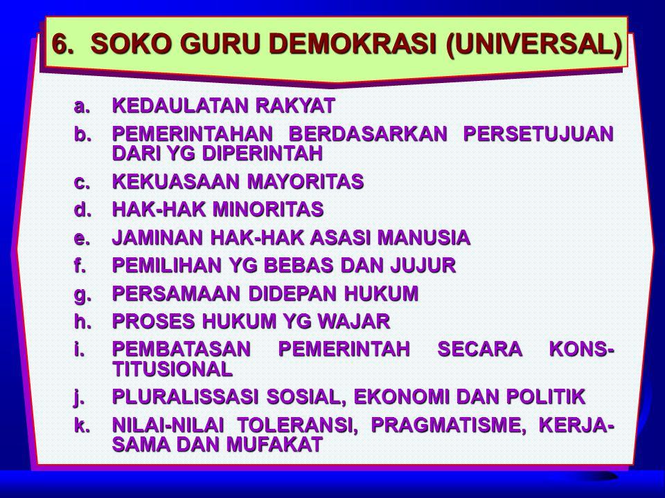6. SOKO GURU DEMOKRASI (UNIVERSAL)