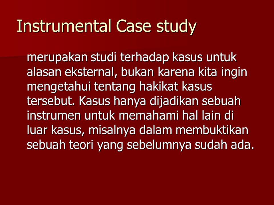Instrumental Case study
