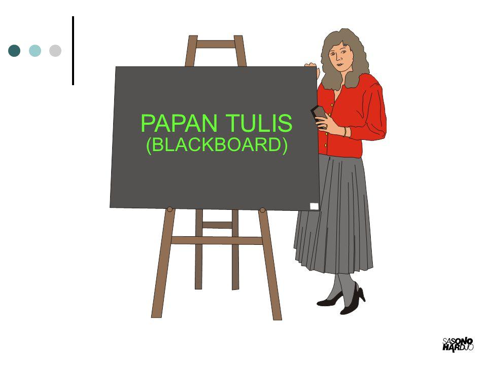 PAPAN TULIS (BLACKBOARD)