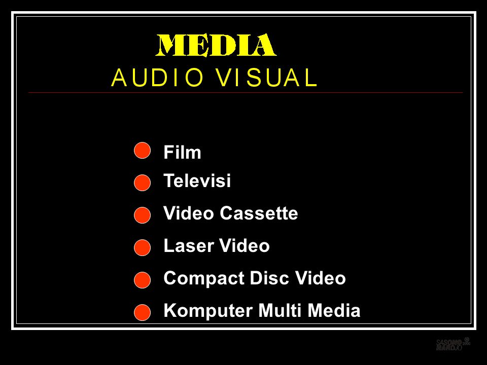 Film Televisi Video Cassette Laser Video Compact Disc Video Komputer Multi Media