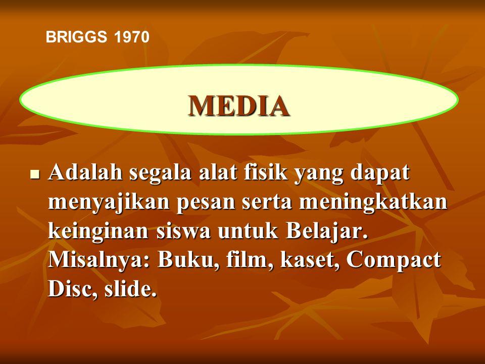 BRIGGS 1970 MEDIA.