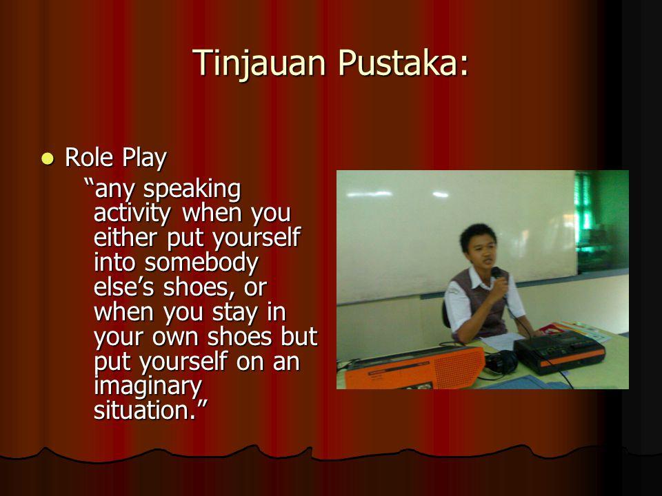 Tinjauan Pustaka: Role Play
