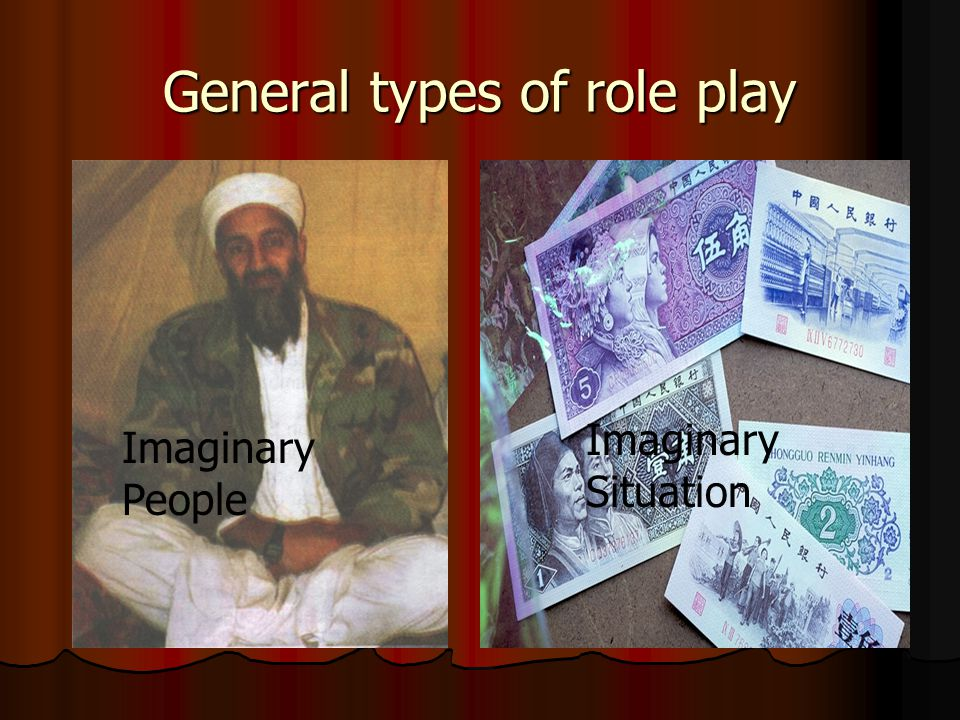 General types of role play