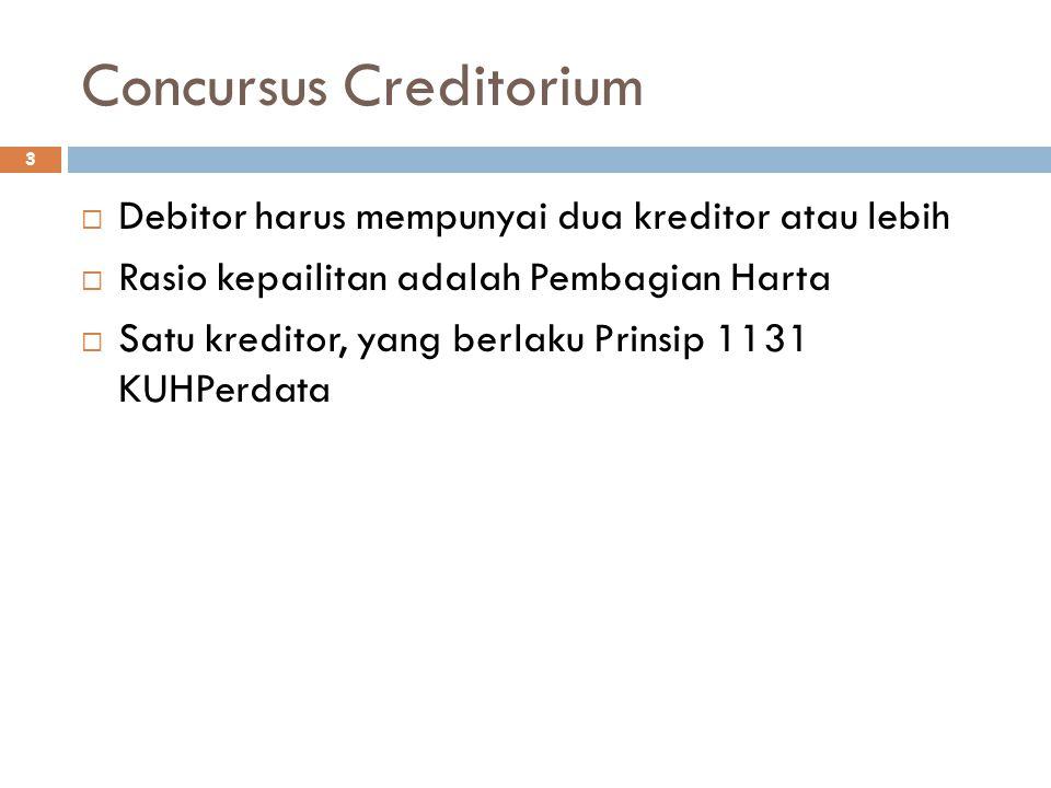 Concursus Creditorium