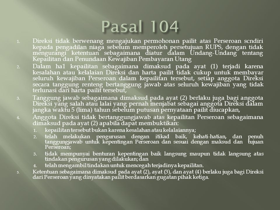 Pasal 104
