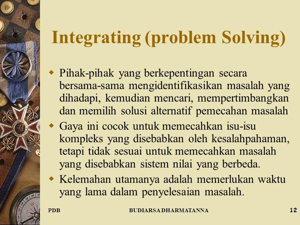Integrating (problem Solving)