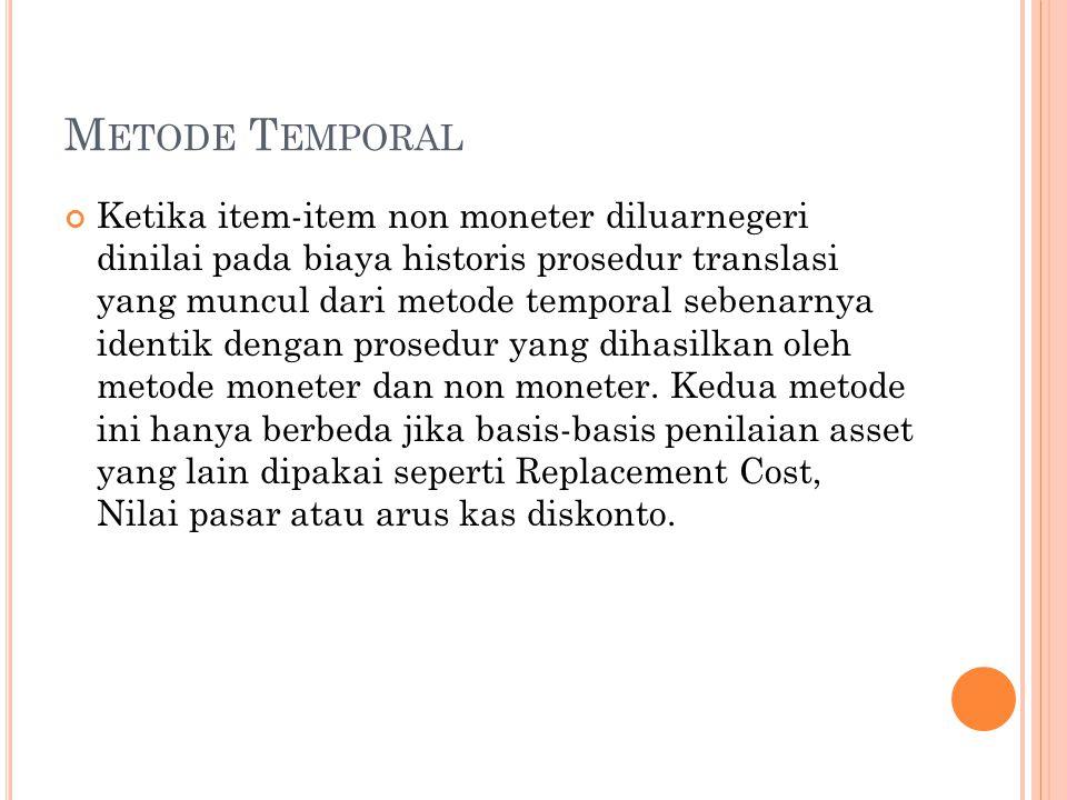 Metode Temporal