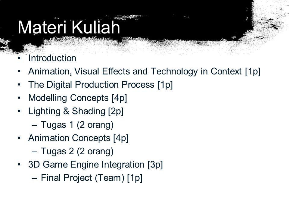Materi Kuliah Introduction