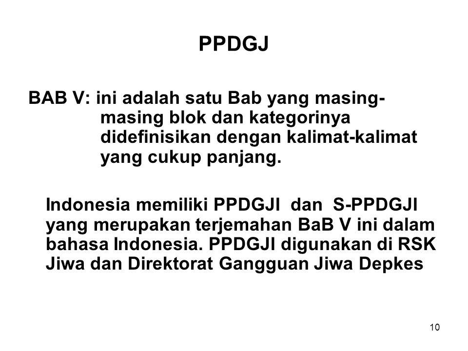 PPDGJ