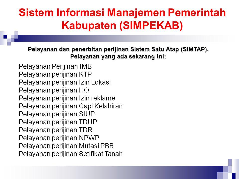Sistem Informasi Manajemen Pemerintah Kabupaten (SIMPEKAB)