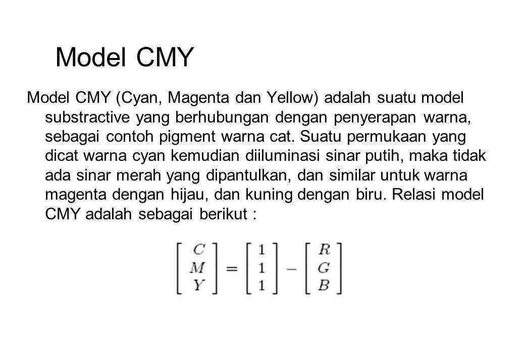 Model CMY