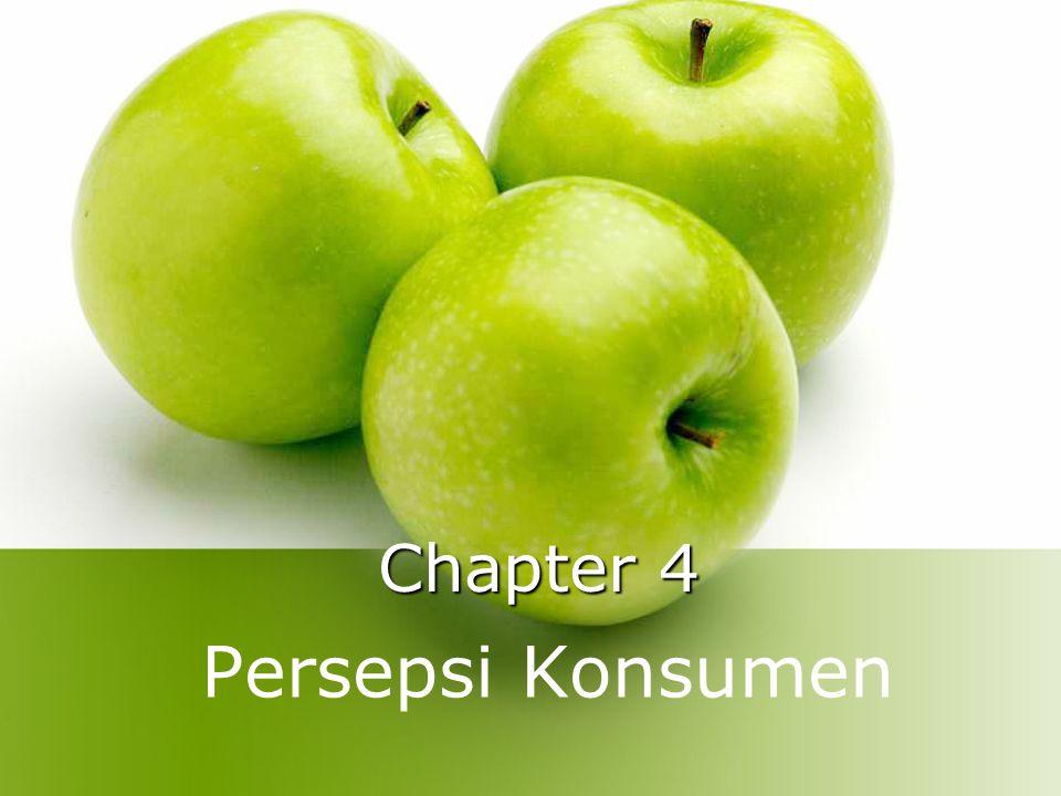 Chapter 4 Persepsi Konsumen