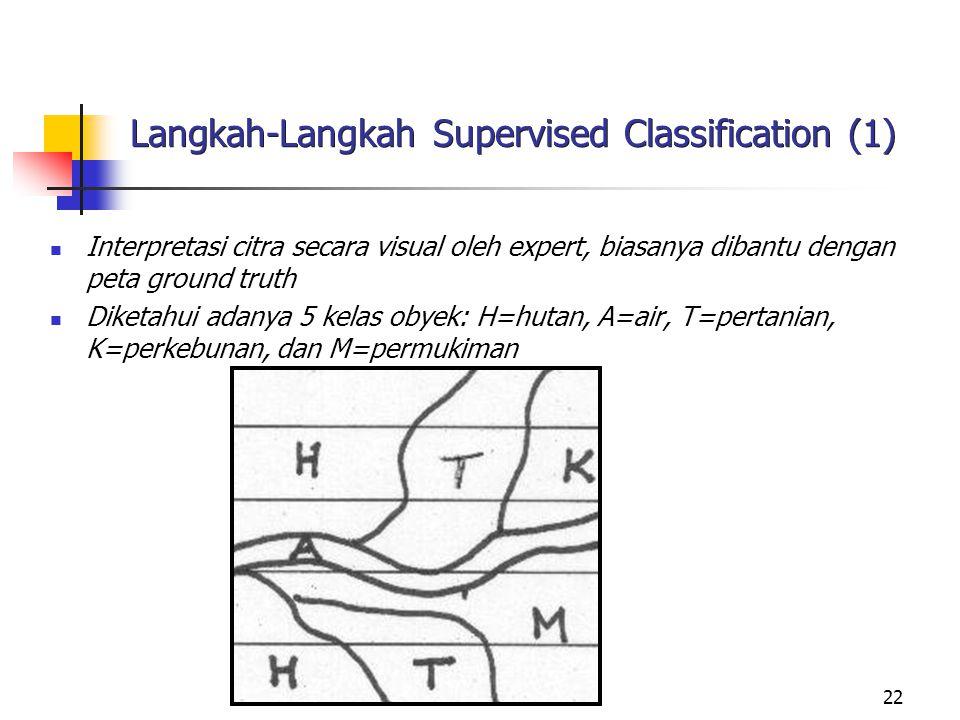 Langkah-Langkah Supervised Classification (1)
