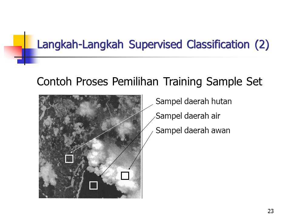 Langkah-Langkah Supervised Classification (2)