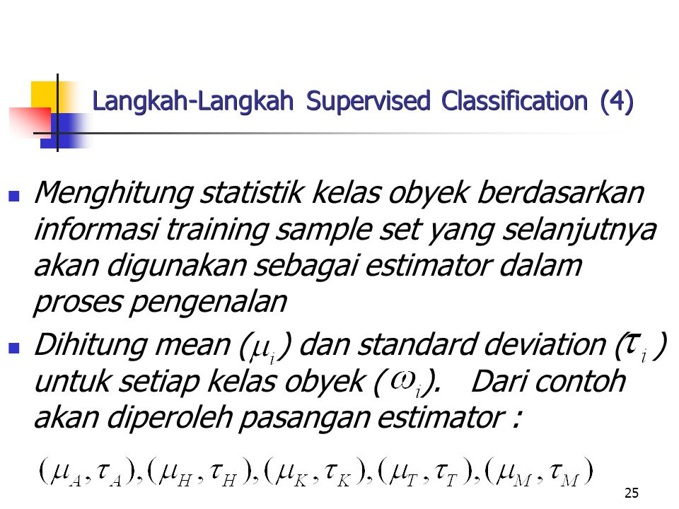 Langkah-Langkah Supervised Classification (4)