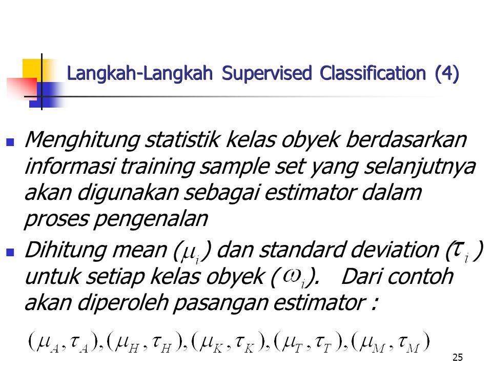 Langkah-Langkah Supervised Classification (4)