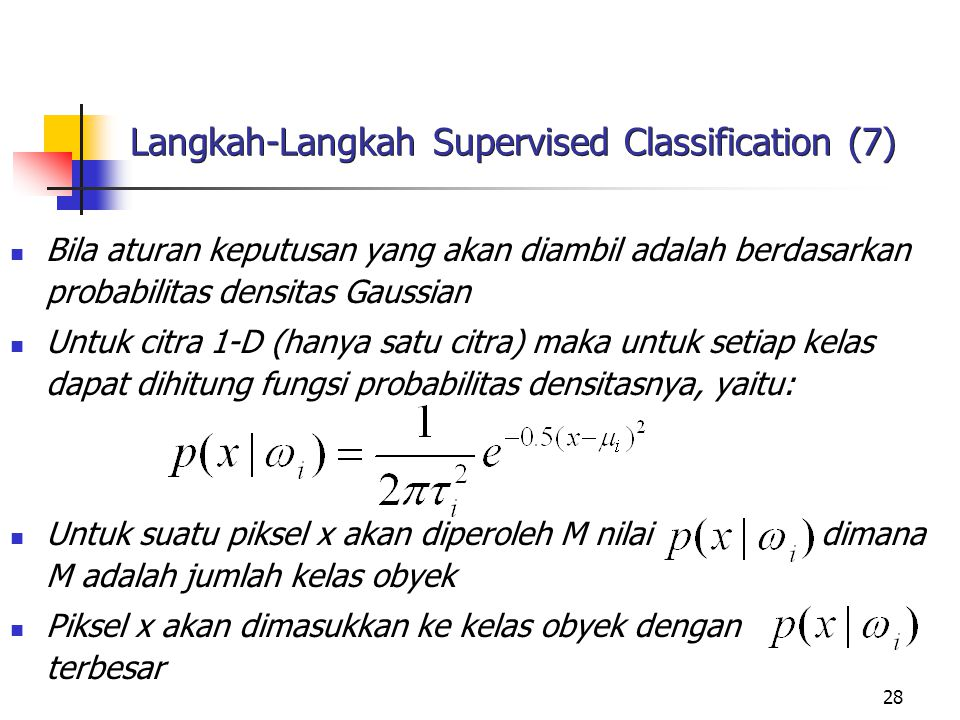 Langkah-Langkah Supervised Classification (7)