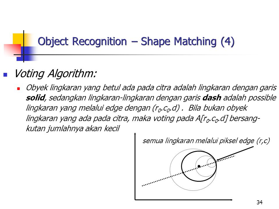 Object Recognition – Shape Matching (4)