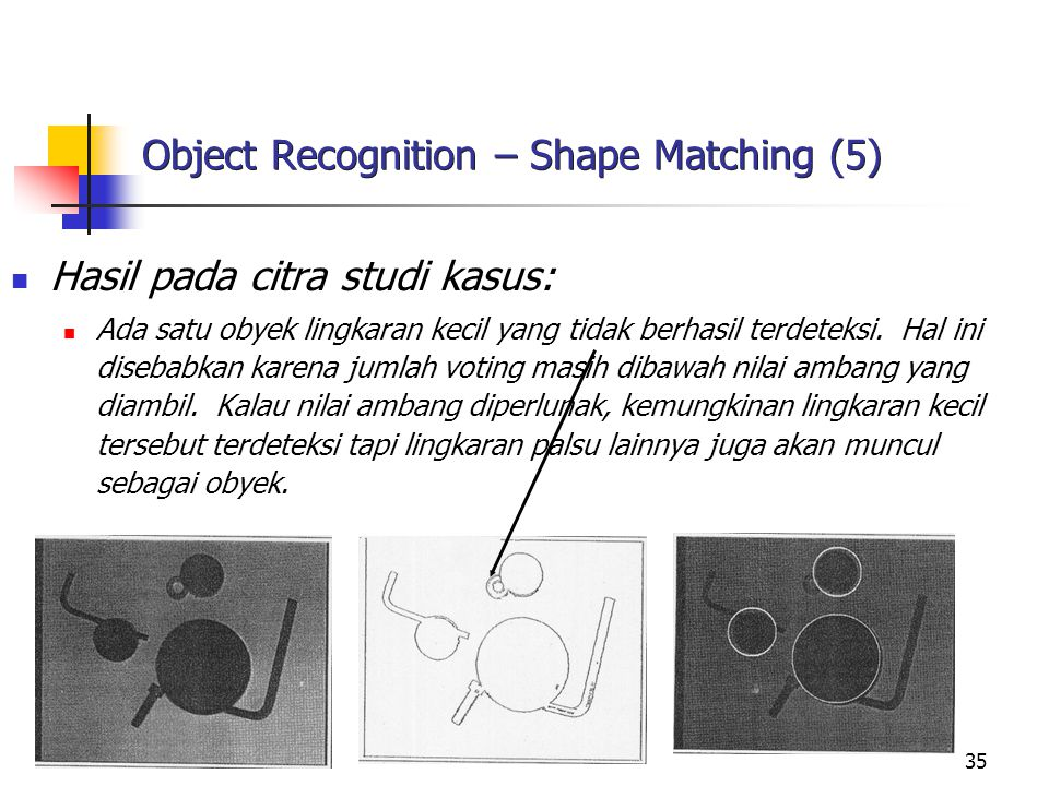Object Recognition – Shape Matching (5)