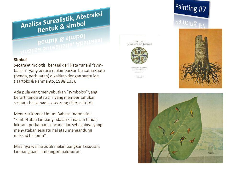 Analisa Surealistik, Abstraksi Bentuk & simbol