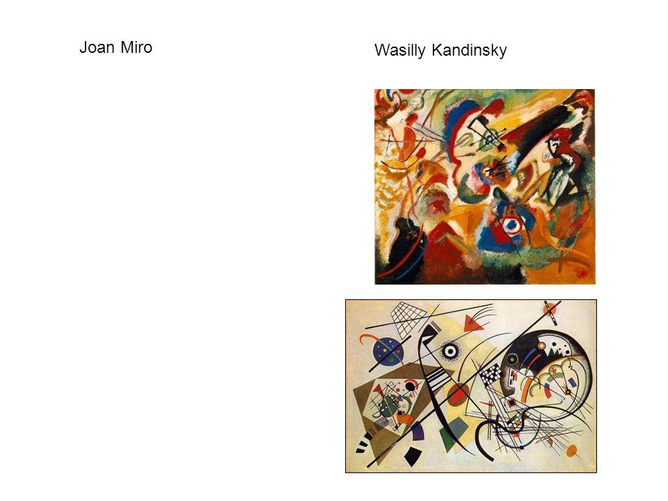 Joan Miro Wasilly Kandinsky