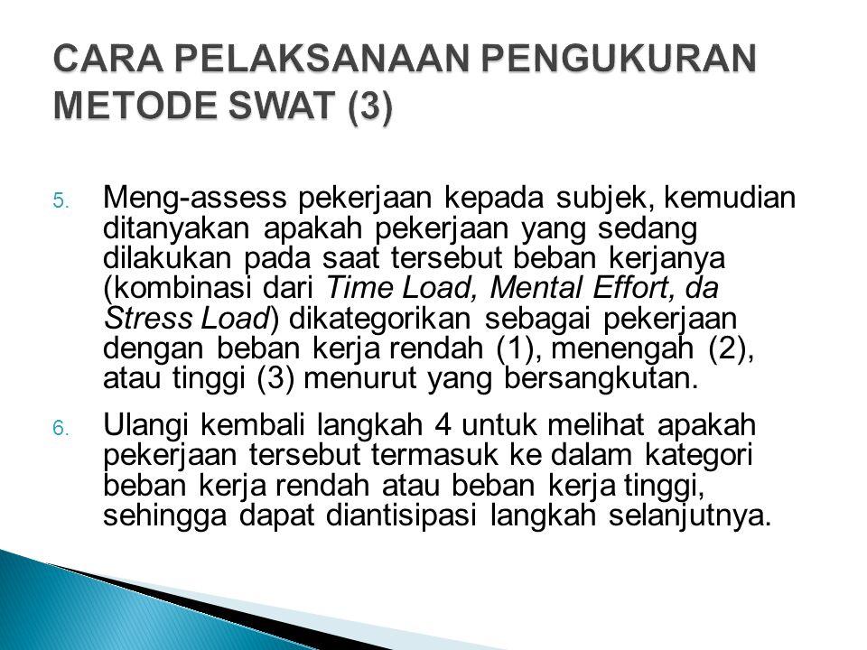 CARA PELAKSANAAN PENGUKURAN METODE SWAT (3)
