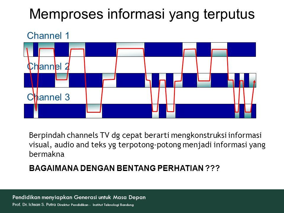 Memproses informasi yang terputus