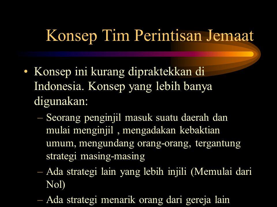 Konsep Tim Perintisan Jemaat