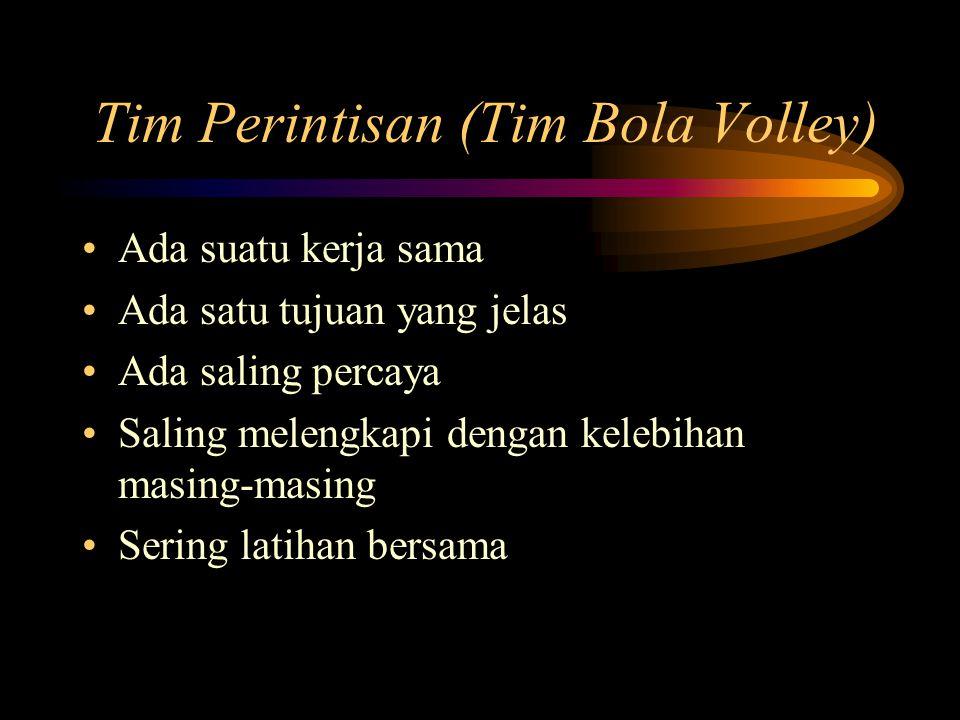 Tim Perintisan (Tim Bola Volley)