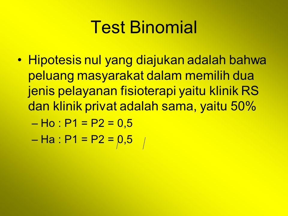 Test Binomial