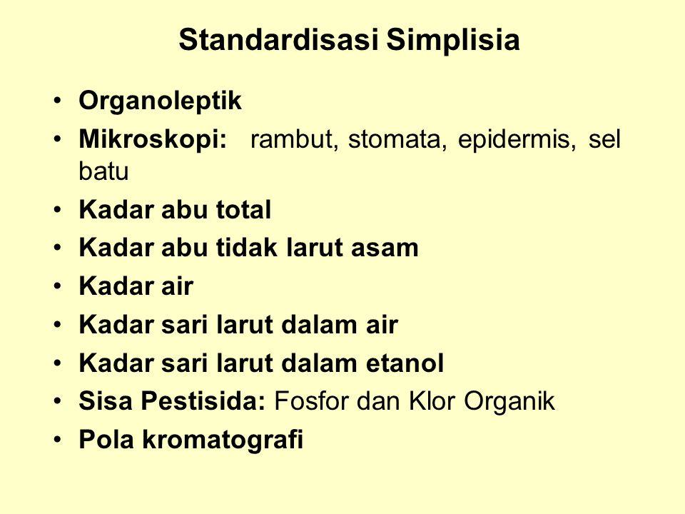 Standardisasi Simplisia