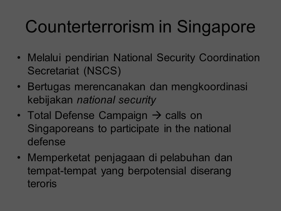 Counterterrorism in Singapore