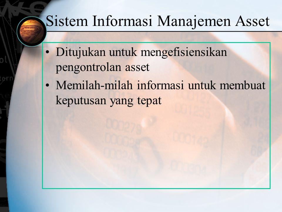 Sistem Informasi Manajemen Asset