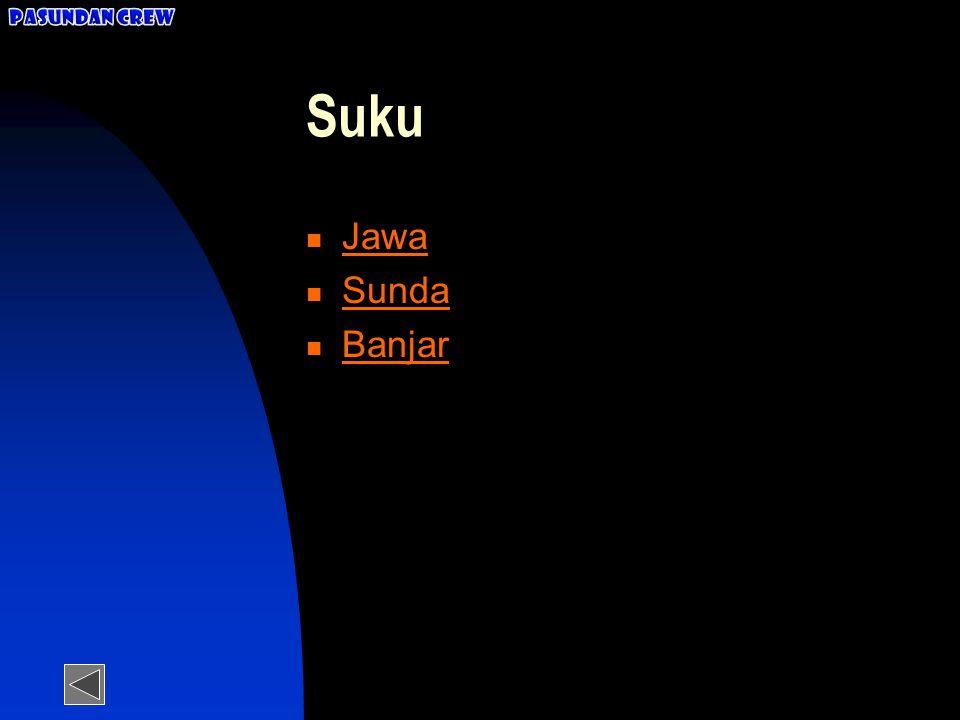 Pasundan Crew Suku Jawa Sunda Banjar