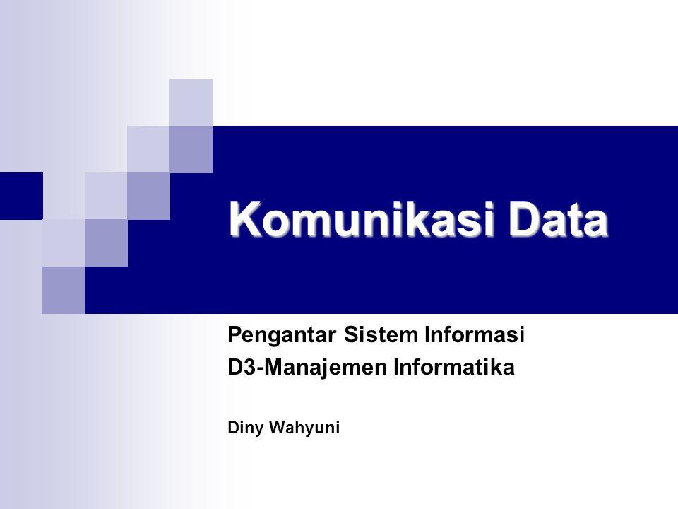 Pengantar Sistem Informasi D3-Manajemen Informatika Diny Wahyuni