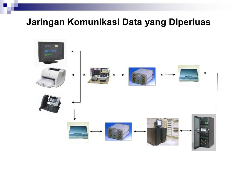 Jaringan Komunikasi Data yang Diperluas