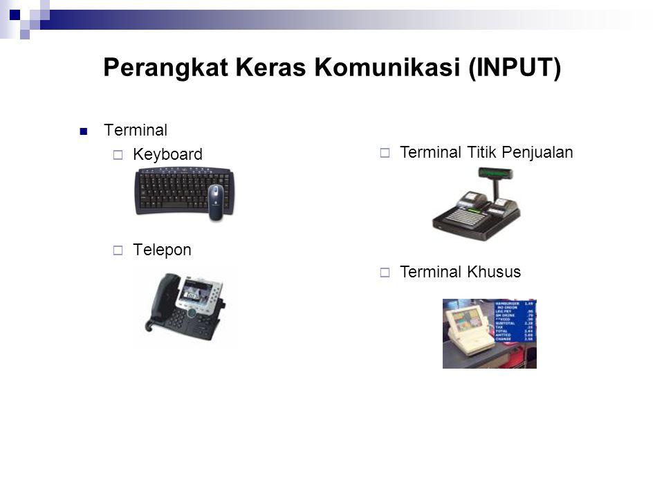 Perangkat Keras Komunikasi (INPUT)