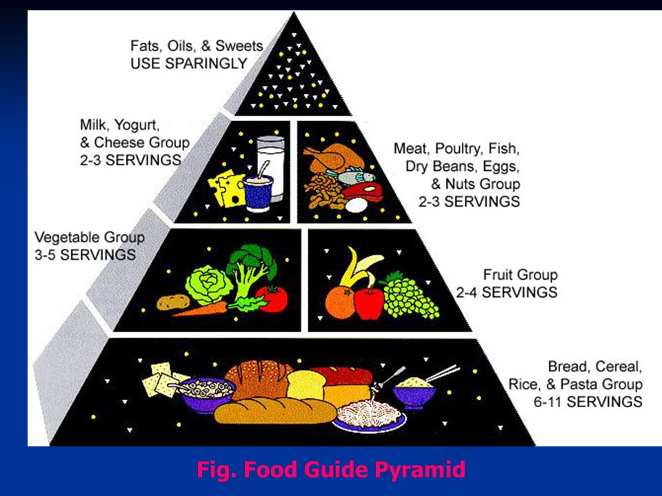Fig. Food Guide Pyramid
