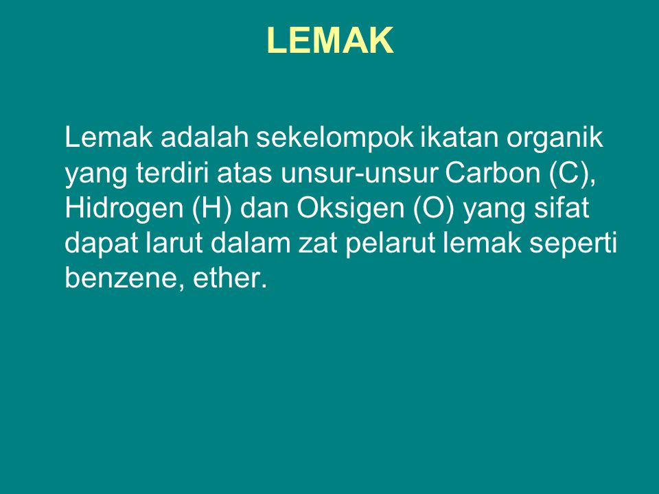 LEMAK
