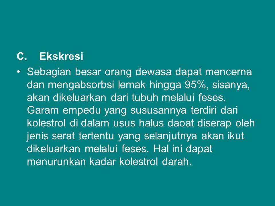 C. Ekskresi