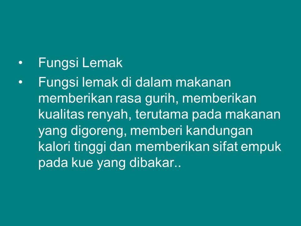 Fungsi Lemak